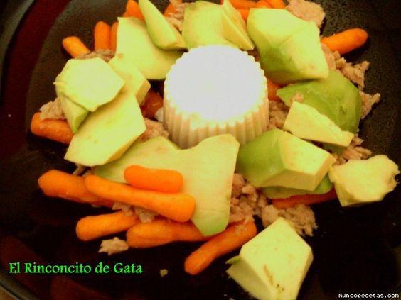 Ensalada de Aguacate y Zanahoria