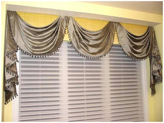 Curtain Scarves Ideas | Rods Kitchen Curtains Tier Curtains Swags And  Kitchen Window Valances .