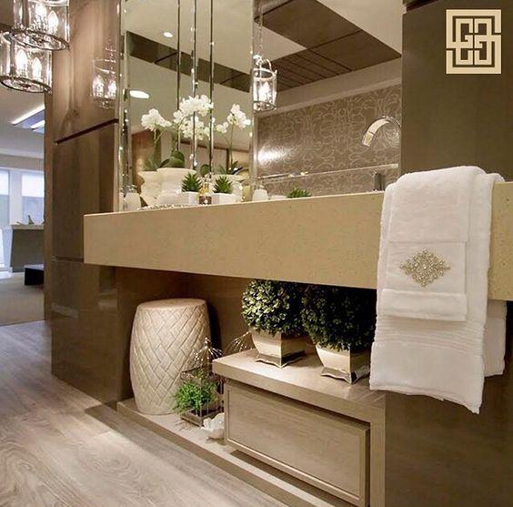 Lavabo No Banheiro : Garden seat no lavabo banheiro jardins