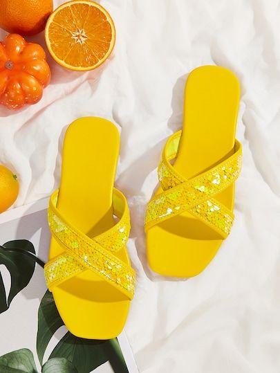 Beautiful Summer  Flat Slippers