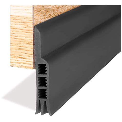 Door Strip Door Sweep Weather Stripping Draft Stopper Under Door Draft Blocker Door Seal Noise Stopper Kick Off Bu Door Stopper Wood Garage Doors Cool Gadgets