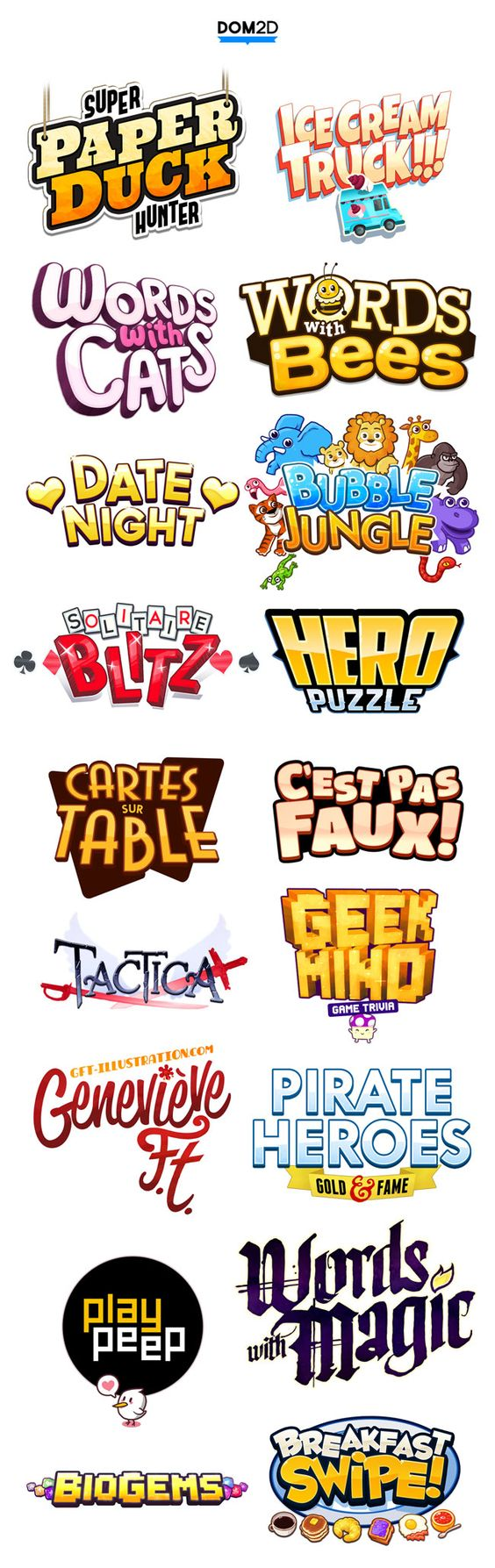Typography, Game icon and Awesome on Pinterest