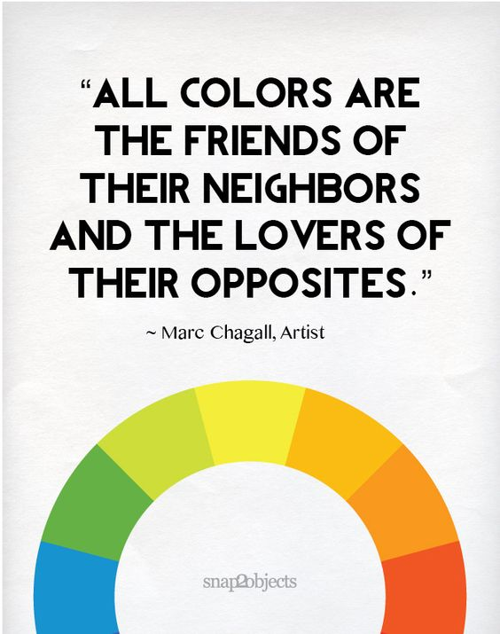This is why I love colors! Everyone gets along or at least is respectful of their differences.
