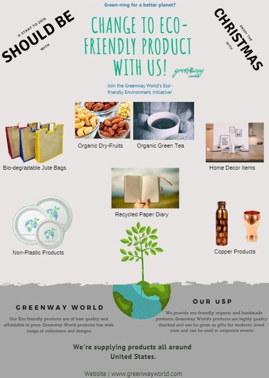 Change To Eco Friendly Products