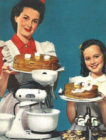 vintage baking | Happy Homemaking | Pinterest | Baking ...