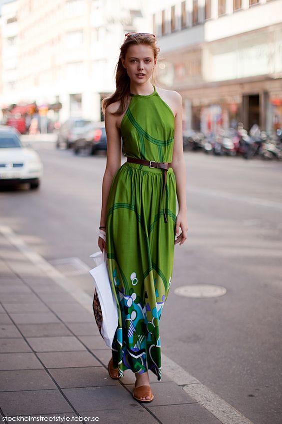 Frida Gustavson, street style.