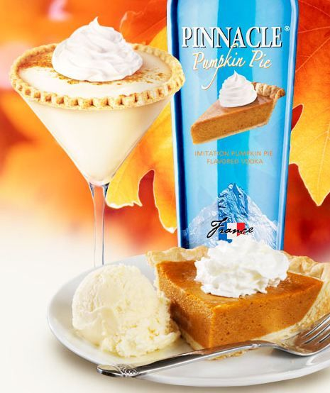 Pinnacle Vodka's latest flavor...Pumpkin Pie!