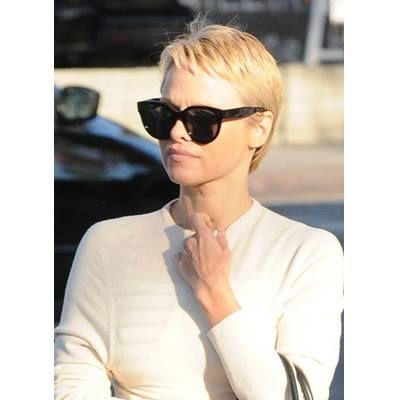 Pamela Anderson's Pixie Cut