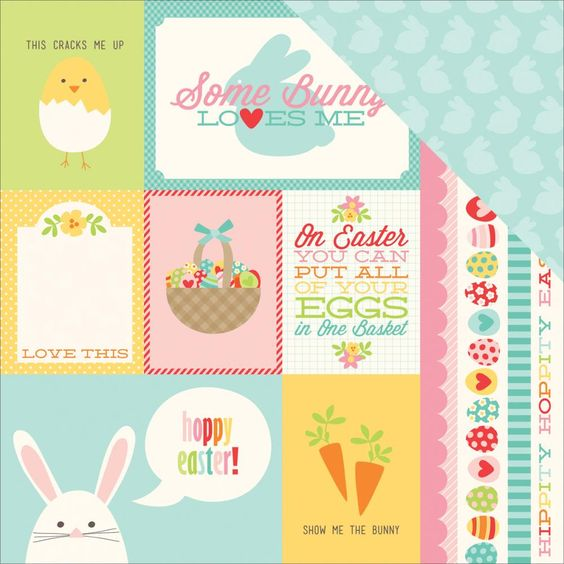 New Echo Park Happy Easter collection now in stock at Crafts U Love http://www.craftsulove.co.uk/papers.htm