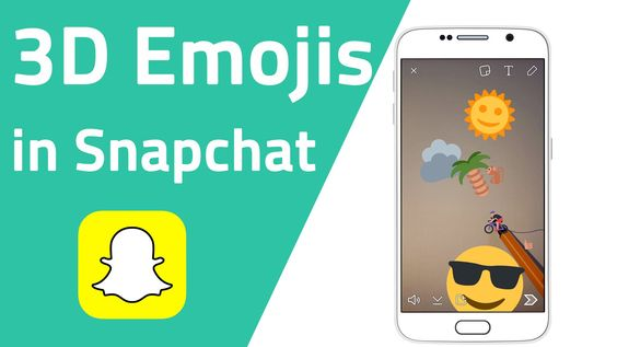 3D Emojis in Snapchat - Neue Funktion - YouTube