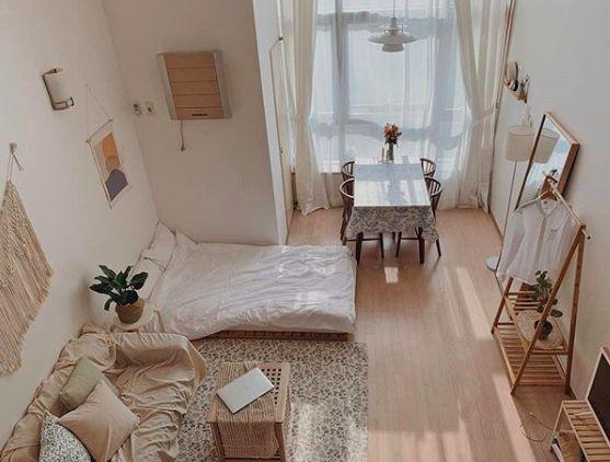 Sweetheartsareus Room Design Bedroom Room Inspiration Bedroom Minimalist Bedroom Small Korean style bedroom ideas