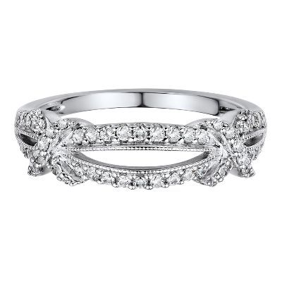 1/3 ct. tw. Diamond Knotted Band in 14K Gold available at #HelzbergDiamonds