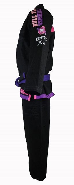 BULLTERRIER Jiu Jitsu Gis New Feminino Black
