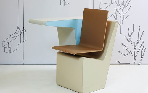 006 Sideseat A Desk A Chair And A Storage Space In One In 2020 Furniture Design Chair Storage Furniture