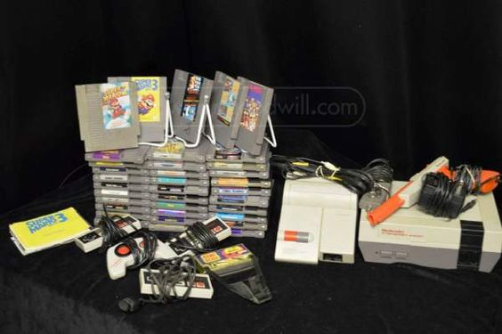 shopgoodwill.com: Nintendo System With 35 Games