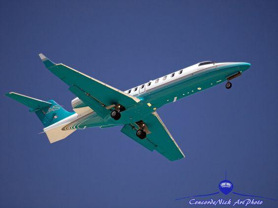 London Air Service Learjet