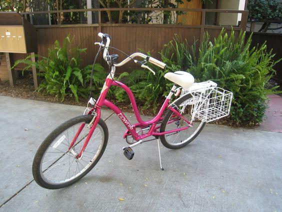 Cute Townie bike
