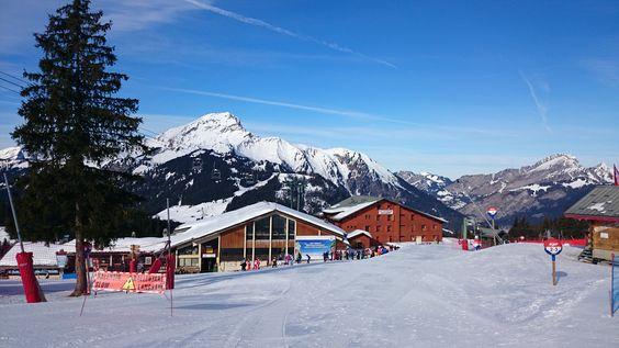 Wintersport 2015 in Châtel Frankrijk