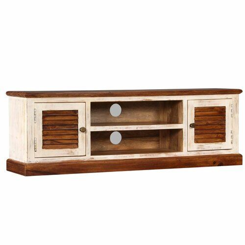 Bloomsbury Market Aman Tv Stand For Tvs Up To 50 Wooden Tv