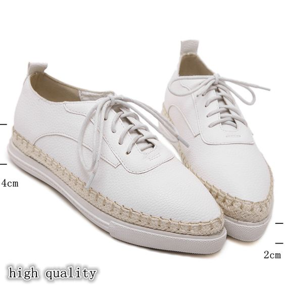 Cheap shoes with skate wheels, Buy Quality shoe soccer directly from China fashion shoes bags Suppliers:    2016 New White women flats Lace preppy style leather flat shoes woman fashion tennis breathable women Oxford shoes Si