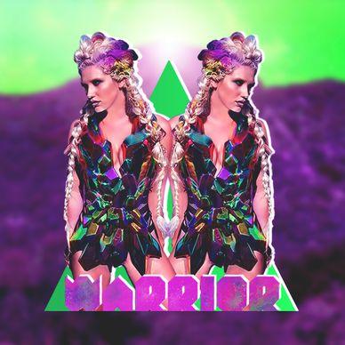Ke$ha - Ke$ha - Warrior made by Living Rejects