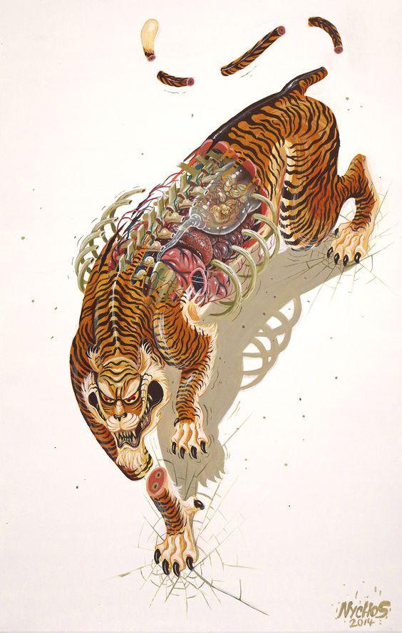 Tigre décomposé