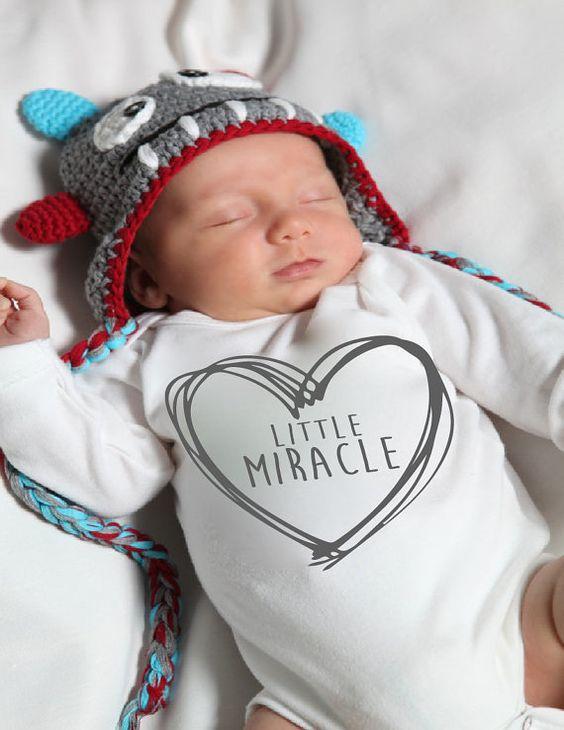 miracle onesie® Miracle Onesie miracle baby by LittleAdamandEve