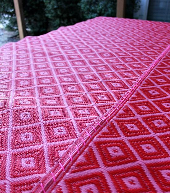 Turn Two Outdoor Runners Into One Large Rug Using Plastic - Ikea Outdoor Rug Roselawnlutheran