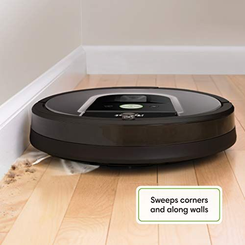 Irobot Roomba 960 Robot Vacuum Wi Fi Connected Mapping Works With Alexa Ideal For Pet Hair Carpets Hard Floors Ad Wi Robot Vacuum Roomba Irobot Roomba