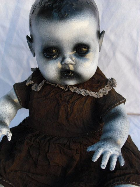 Tala 11 inch Vintage Altered Doll by DeceasedArt on Etsy