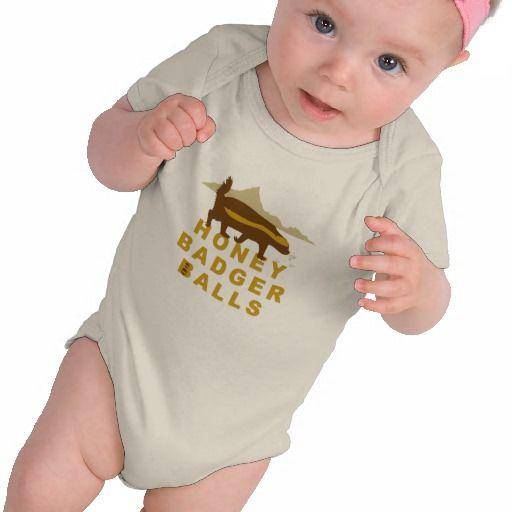 Honey Badger Balls Tee Shirts