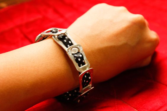 #wikiHow to Make a Pop Tab Bracelet #DIY