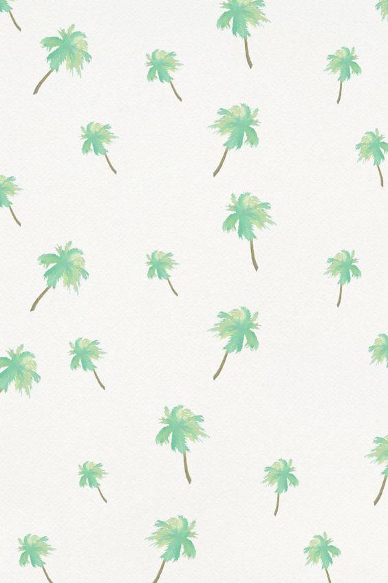 Palm Tree Wallpaper Pattern | www.imgkid.com - The Image