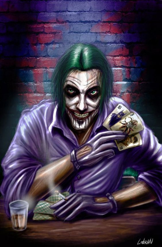 The Joker by lobran on DeviantArt