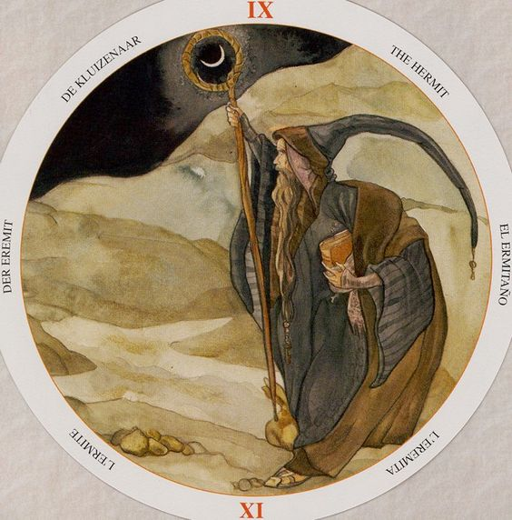 The Hermit  ~ Circle of Life Tarot