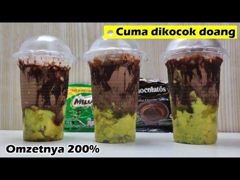 1 Resep Bisa Omzet Rp 60ribuan Dari Alpukat Kocok Nyoklat Milo Chocholatos Takjil Bisnis Youtube Food Food And Drink Food N