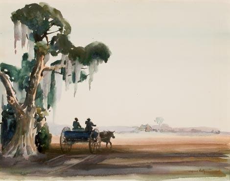 Alfred Hutty. Legendary Charleston artist.