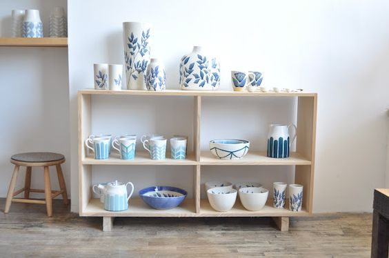 kindred in Blue & White: the ceramics of Heather Dahl and Krystal Speck