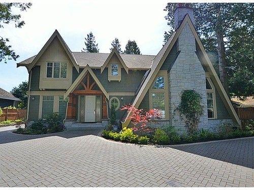 Custom Built West Coast A Frame Beautiful Homes at www.dahlhomesbc.com
