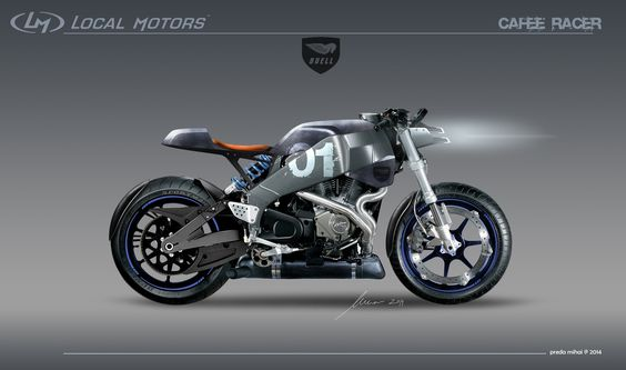 Altarf --- Buell xb12ss​ Cafe Racer | Local Motors