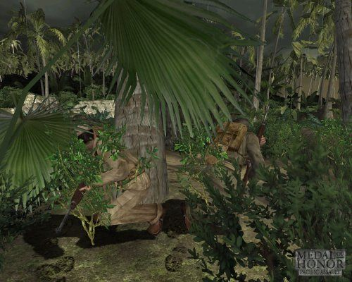 Medal of Honor Pacific Assault Game Snapshots