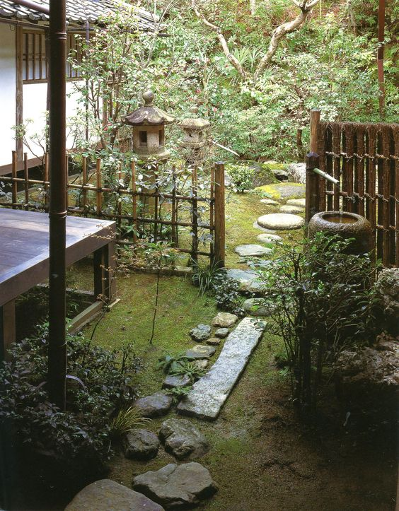 Shozenji temple landscapes for small spaces japanese for Japanese garden small space