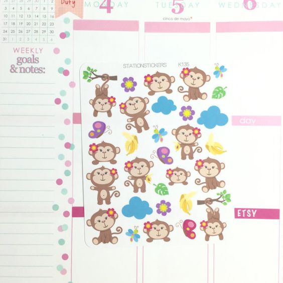 Cute labels perfect for your planner! Printed on non glossy thin sticker paper and kiss cut around the edges. These stickers are REMOVABLE and