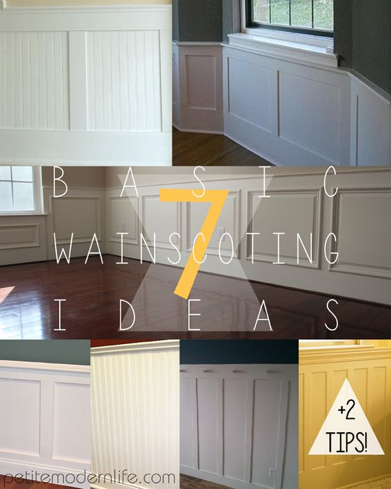 Wainscoting Ideas Dining Room: 7 Basic Wainscoting Ideas