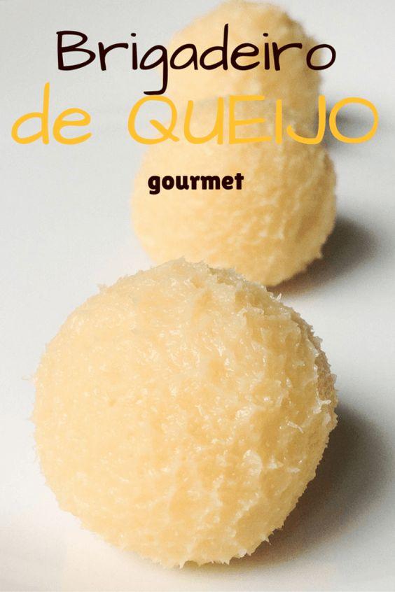 Brigadeiro de queijo