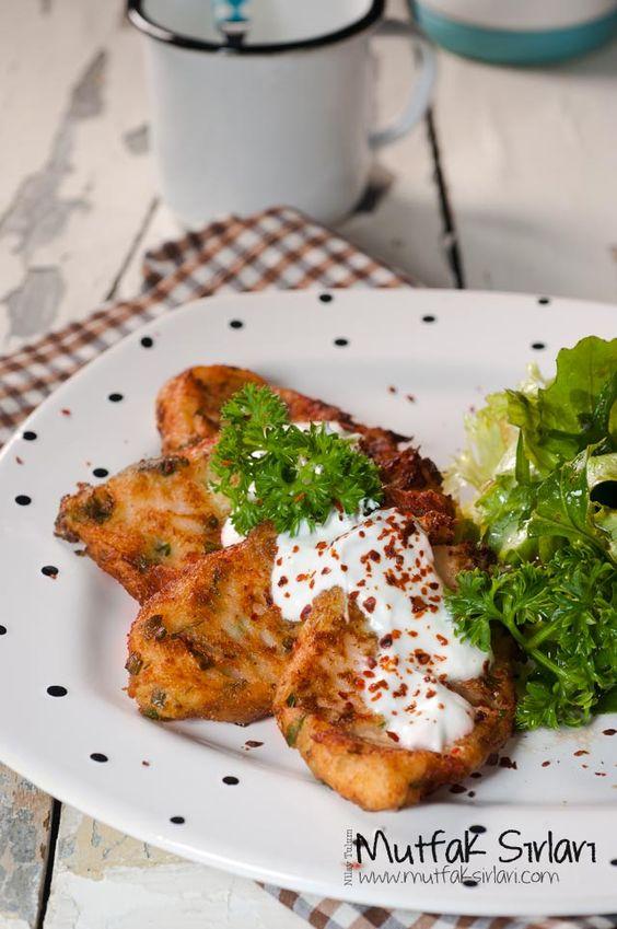 Karnabahar Mücveri, Tortitas de coliflor, Turquía