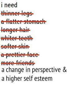 positivebodyimageinspiration:  Positive Body Image Inspiration