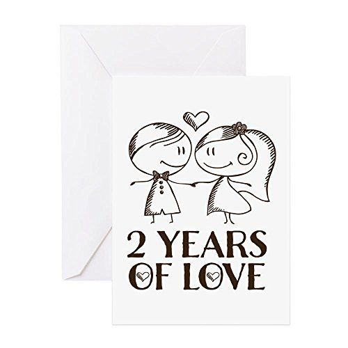 2 Yr Anniversary Gift Amazon Com Anniversary Greeting Cards Anniversary Cards For Couple 1st Anniversary Cards