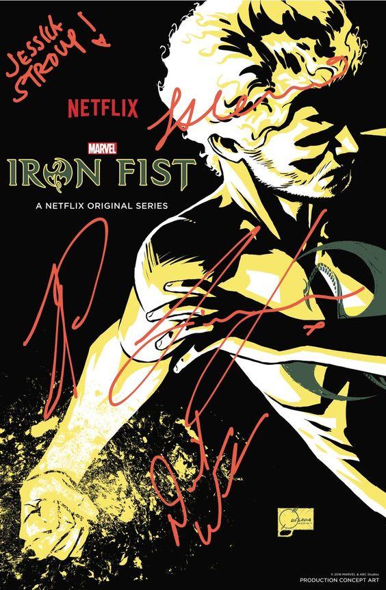 "Iron Fist en Twitter: ""Time to take a bow, #NYCC. #IronFist #Netflix https://t.co/uvBWqIO2CC"""