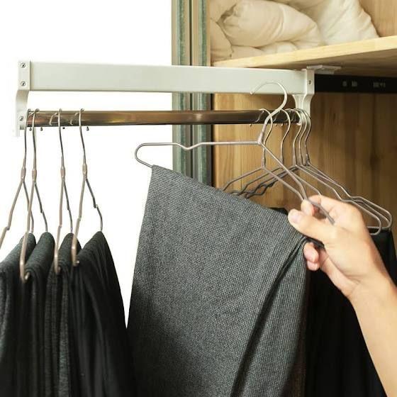 Clothes Hangers For Shallow Closets Pants Rack Clothes Basket Best Clothes Hangers